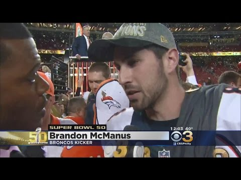 Brandon McManus Reacts To Winning Super Bowl 50 With The Broncos