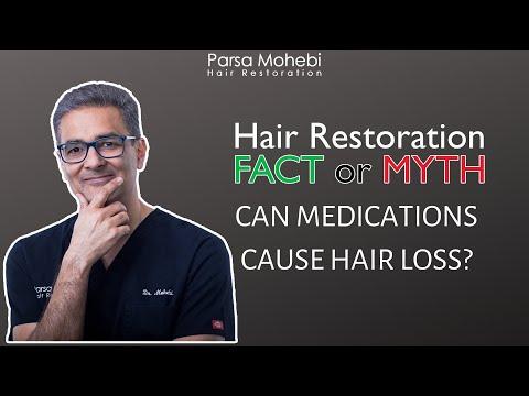 Hair Loss & Medications | FACT or MYTH