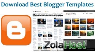 How To Download Best Blogger Templates