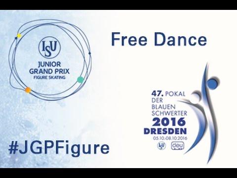 2016 ISU Junior Grand Prix - Dresden - Free Dance