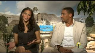 Jumping The Broom - Laz Alonso and Paula Patton talk career, love and education