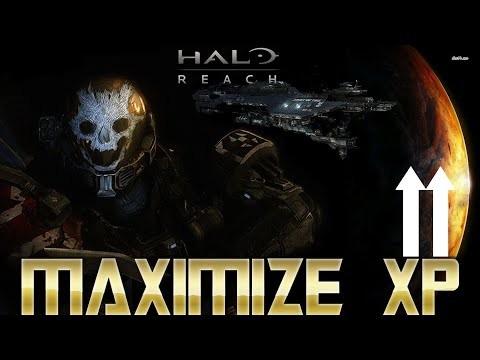 How To Maximize Your XP Per Game And Rank Up Faster! Halo Reach On MCC (PC/Xbox)