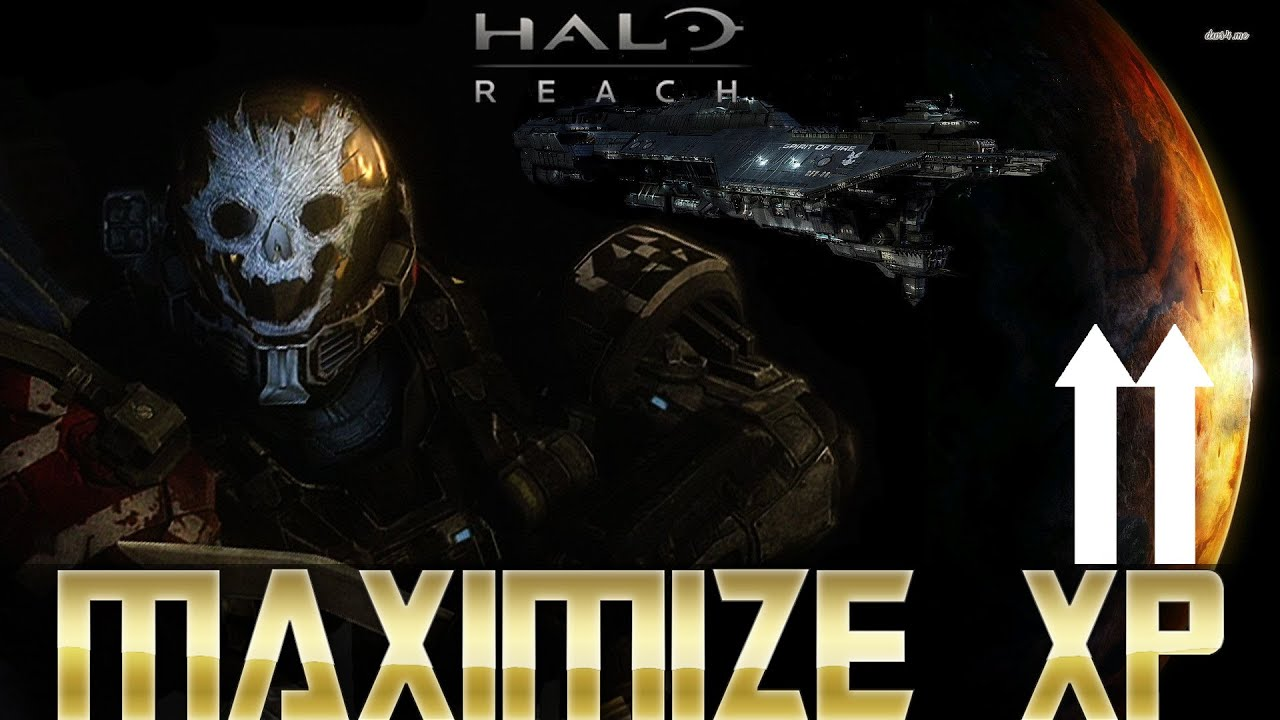 How To Maximize Your Xp Per Game And Rank Up Faster Halo Reach On Mcc Pc Xbox