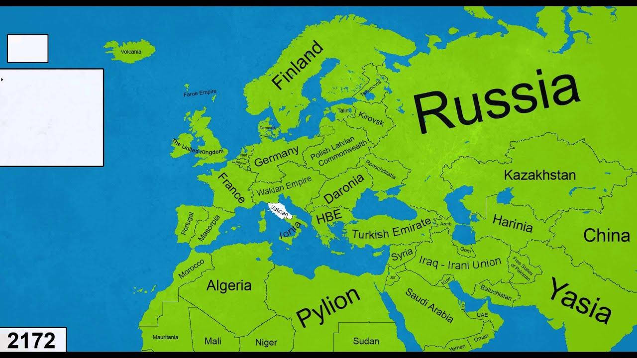 Alternate Future of Europe Episode 23 – Europe Map Map