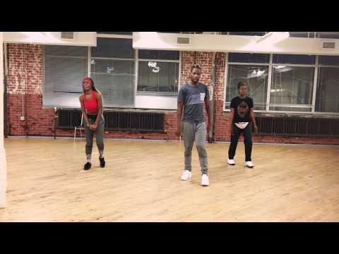 Choreography to ladies night  Lil Kim, Angie Martinez, Left Eye, Da Brat,and Missy