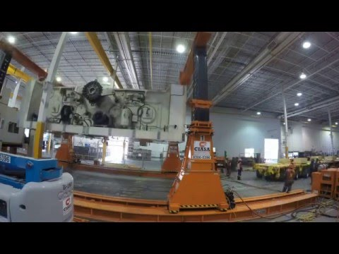 125 ton Crown Removal - Project Management by MPE Group