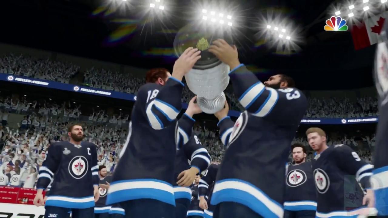 Nhl 19 Winnipeg Jets Stanley Cup Celebration Youtube