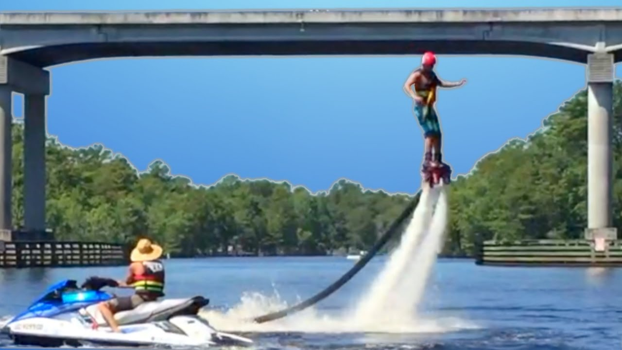 Water Hoverboard For Sale >> Jet Ski And Jetboard Flyboard Hoverboard Adventures Down The River