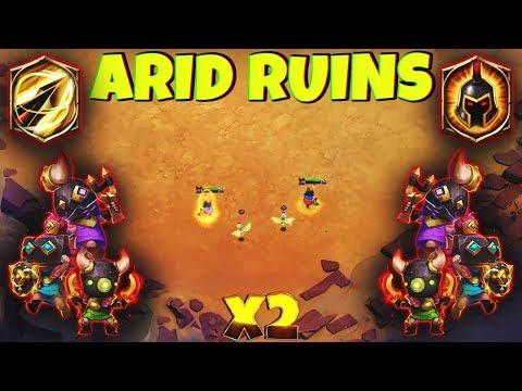 2 Rowdy Rascals [ Arid Ruins ] 8 WG - 8 Zealous Drive | CASTLE CLASH