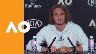 "Stefanos Tsitsipas: ""It's a strange game of tennis"" 