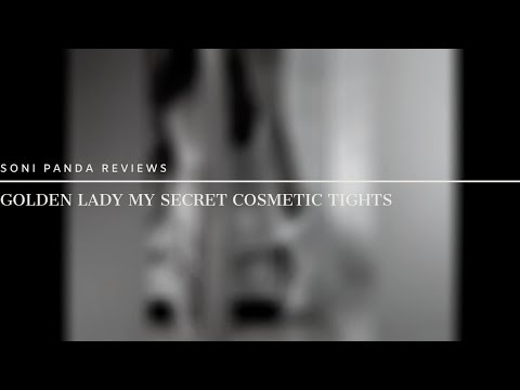 Getting Ready: Golden Lady My Secret Cosmetic Tights