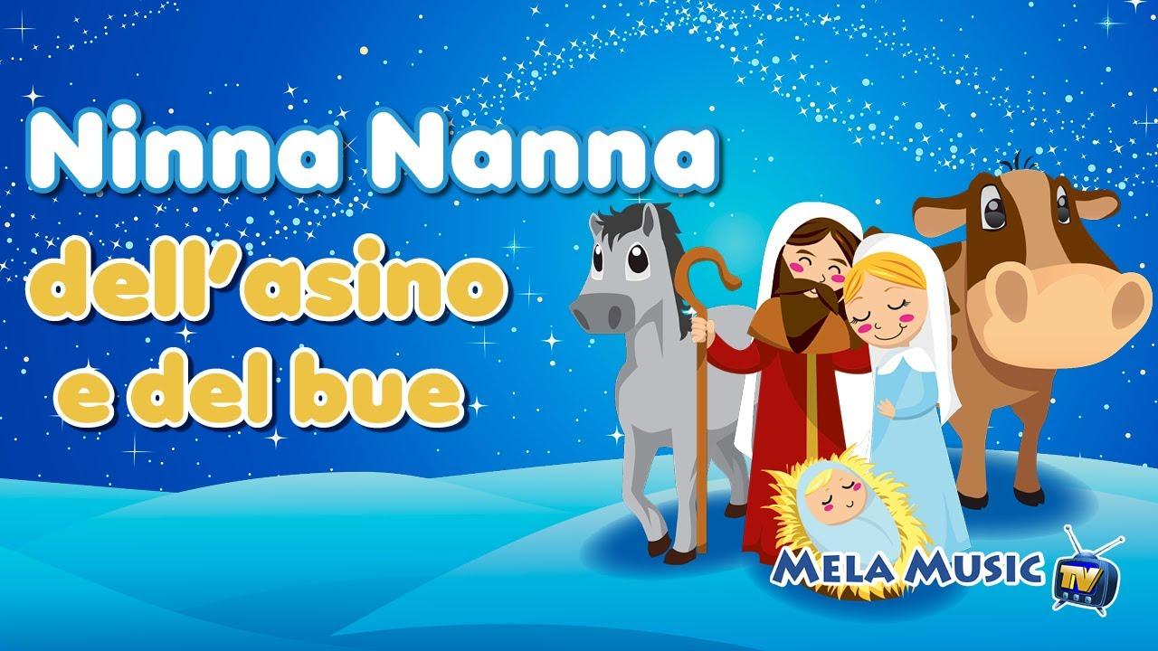 Buon Natale Rap 5 B.Buon Natale Ninna Nanna Dell Asino E Del Bue Canzoni Per Bambini Di Mela Music