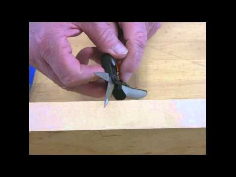 Video of Sharpen Micro Pruning Shears