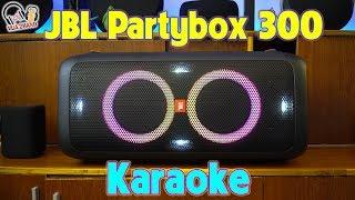 SoundTest JBL Partybox 300 | Loa hát Karaoke chất lừ.