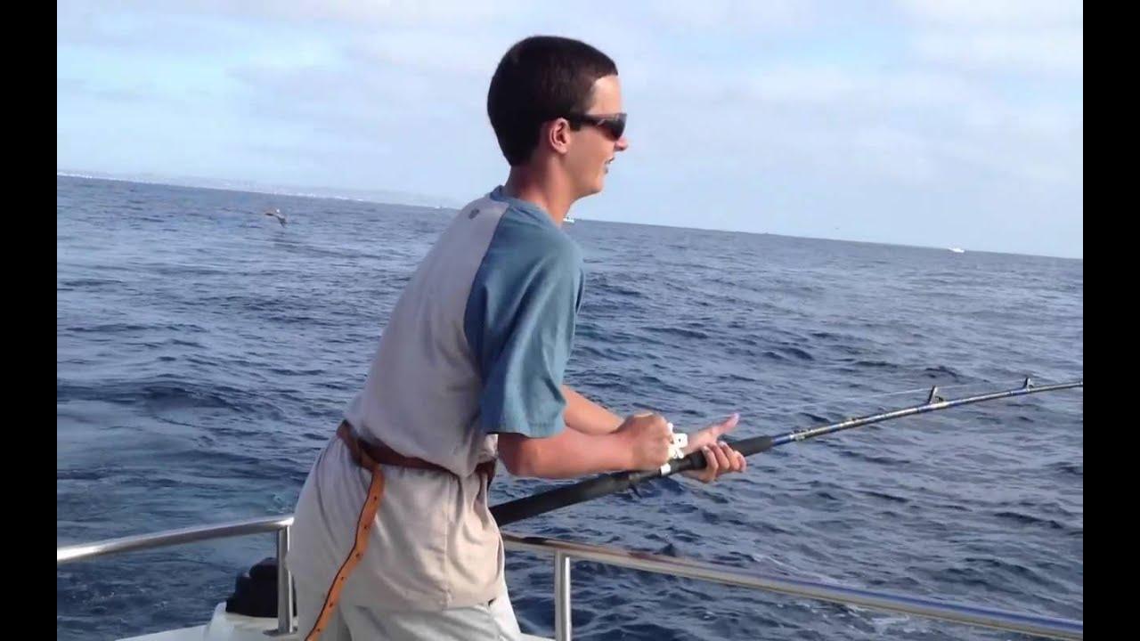 Yellowtail fishing in la jolla 2012 youtube for La jolla fishing