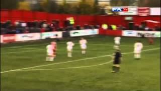 Tamworth 2-1 Crewe - The FA Cup 1st Round - 06/11/10