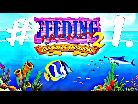 KathyRain Plays - Feeding Frenzy 2 Deluxe Shipwreck Showdown Pc 2016 Pc Gameplay Part #1.