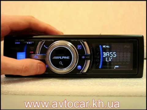 Купить автомагнитолу alpine ida-x300 в украине