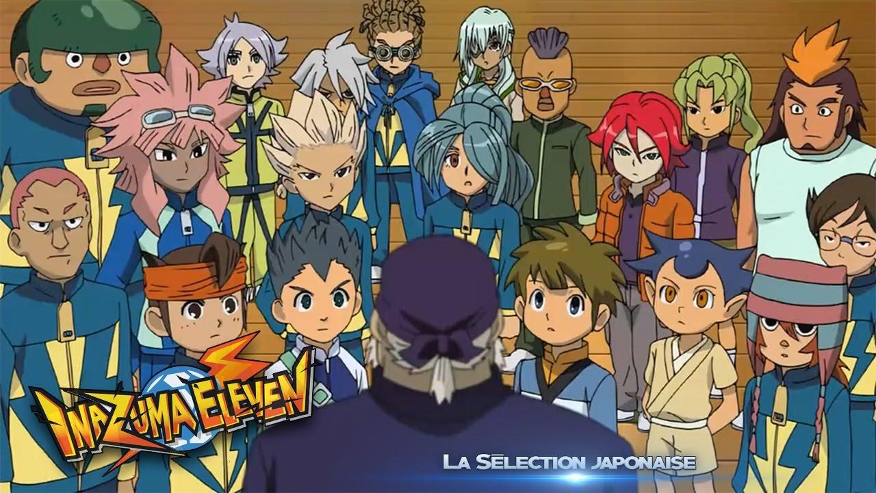 Inazuma Eleven 68 La Selection Japonaise