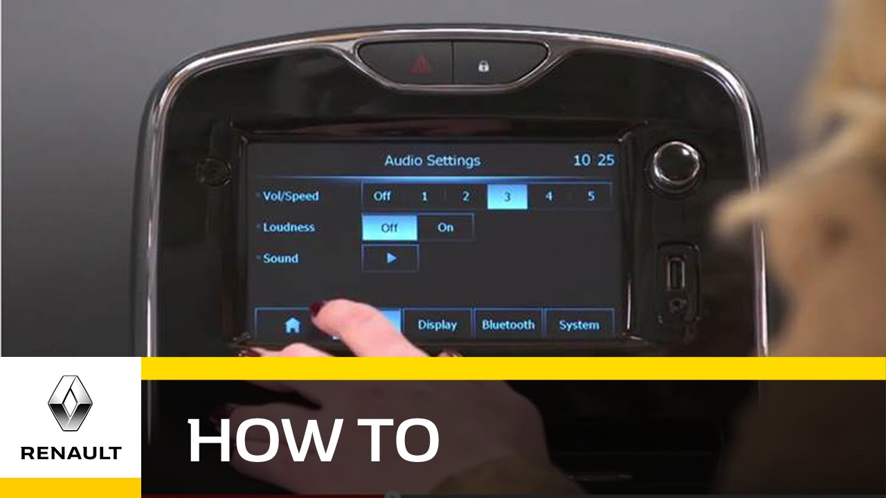 How To: Use MediaNav For Radio or MP3 - Renault UK