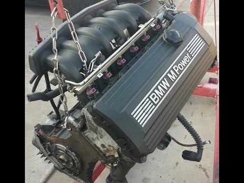 BMW E36 M3 S52 Engine Maintenance Diagram