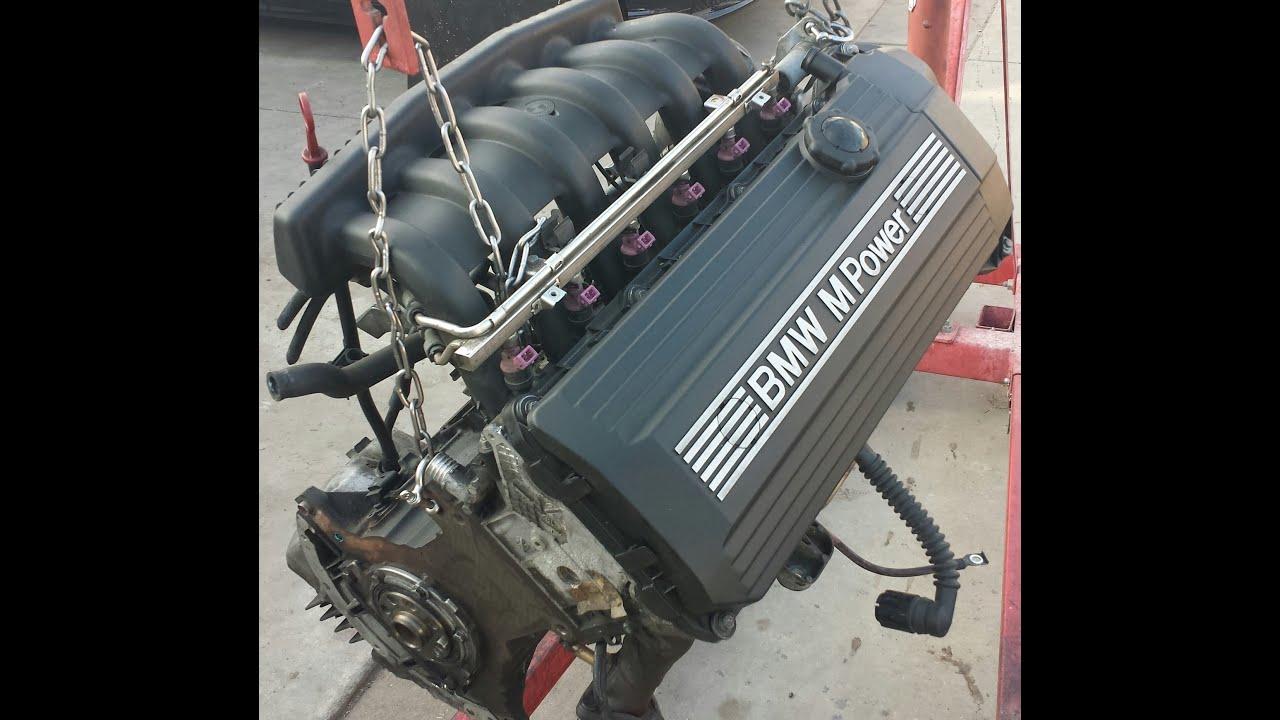 BMW Z3 M M3 S52 Engine Maintenance Diagram  YouTube