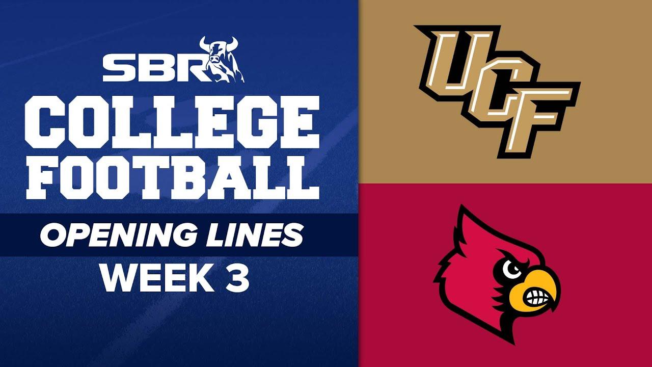 UCF vs. Louisville odds, line, spread: 2021 college football picks ...