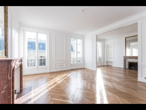 (Ref: 08063) 3-Bedroom unfurnished apartment for rent on Boulevard Haussmann (Paris 8th)