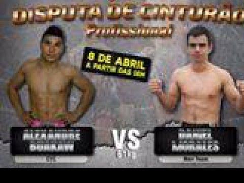 Alexandre Buakaw (CTC) X Daniel Morales (Mori Team) - 61kg
