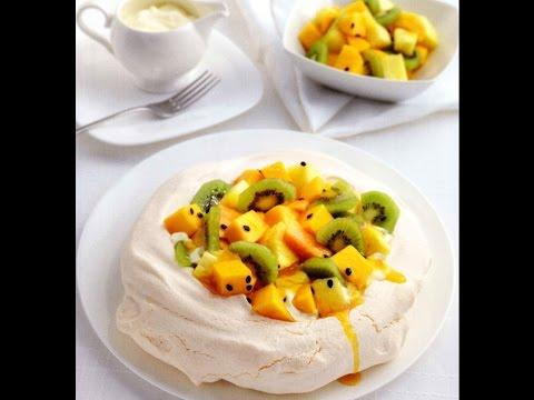 Изысканная выпечка-ТортПавловас фруктами