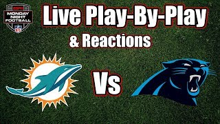 Dolphins Vs Panthers | Live Play-By-Play & Reactions