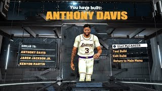HOW TO MAKE A ANTHONY DAVIS BUILD ON NBA 2K20 - TOP 3 BUILDS AND BEST BADGES!!!