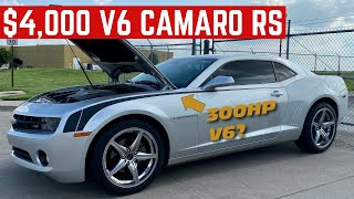 I BOUGHT A BROKEN 2011 Chevy Camaro RS For ONLY $4,000