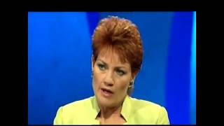 Pauline Hanson on Enough Rope with Andrew Denton: Stirrers