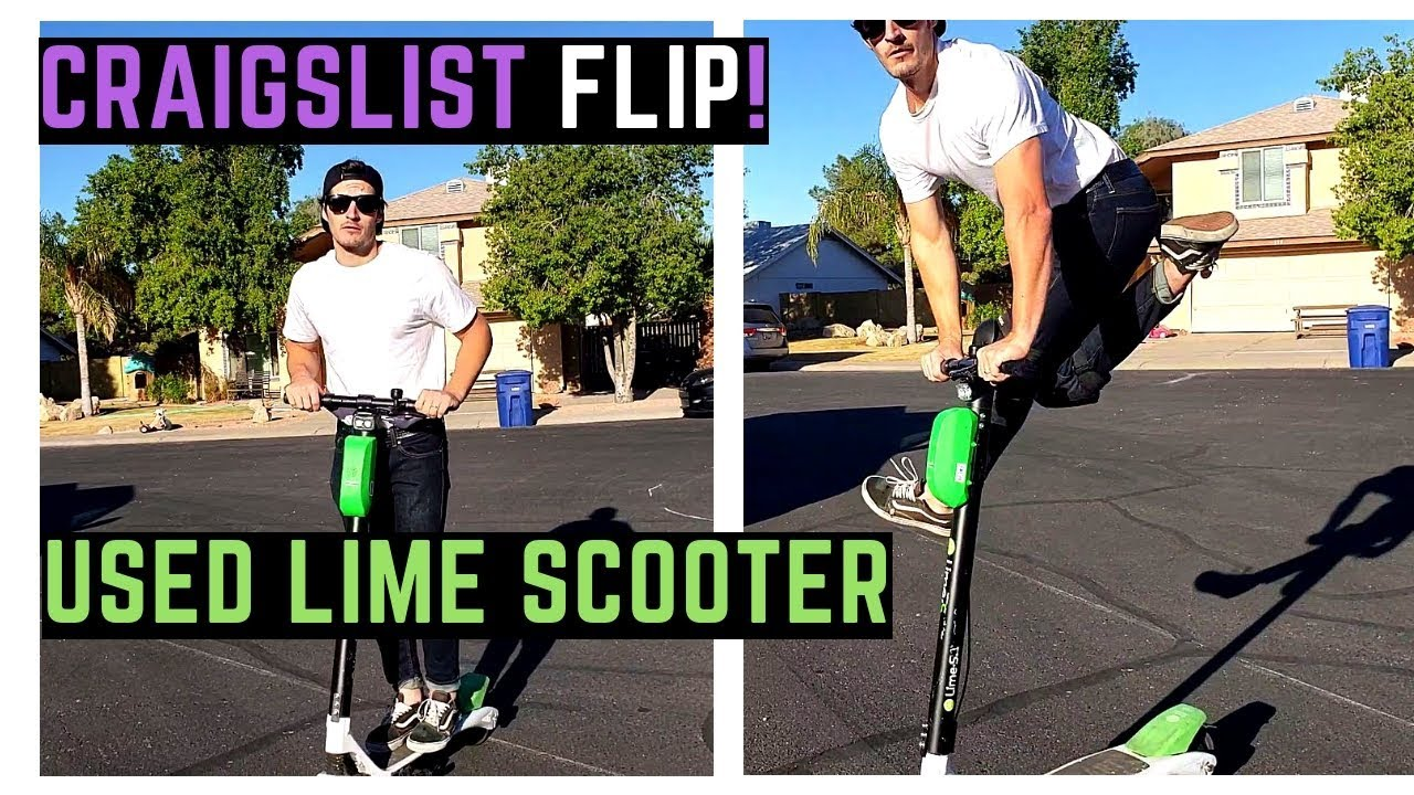 (FAKE) Buying Used BIRD / Lime S Electric Scooter on Craigslist   Ride,  Review, Impressions, Stunts