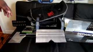 Unboxing Defiance Ultimate GameStop Edition Xbox 360