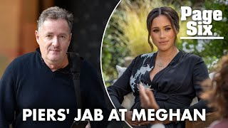 Piers Morgan dubs Meghan Markle 'Princess Pinocchio' | Page Six Celebrity News