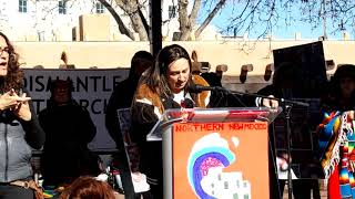 WOMEN'S MARCH SANTA FE  2019 – SANTA FE PLAZA –  Freyr Marie LGBTQ  Community