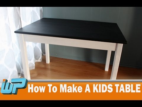 how-to-make-a-kids-table