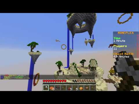 Minecraft  I Can FlyKinda  Sky Fall Survival  Gamer Chad Plays