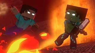 REZENDE VS HEROBRINE ‹ Minecraft Animation ›