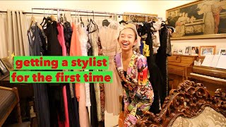 14 YEAR OLD GETS A STYLIST FOR THE FRIST TIME! Vlogmas Day 10 | Nicole Laeno