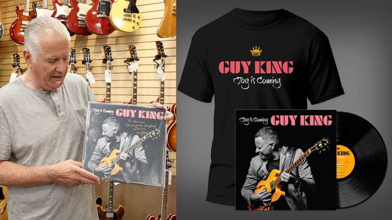 """Guy King's new album """"Joy Is Coming"""" at Norman's Rare Guitars"""