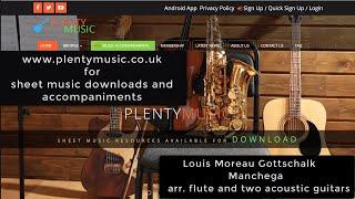 Gottschalk L.M. | Manchega  arranged for flute and two acoustic guitars
