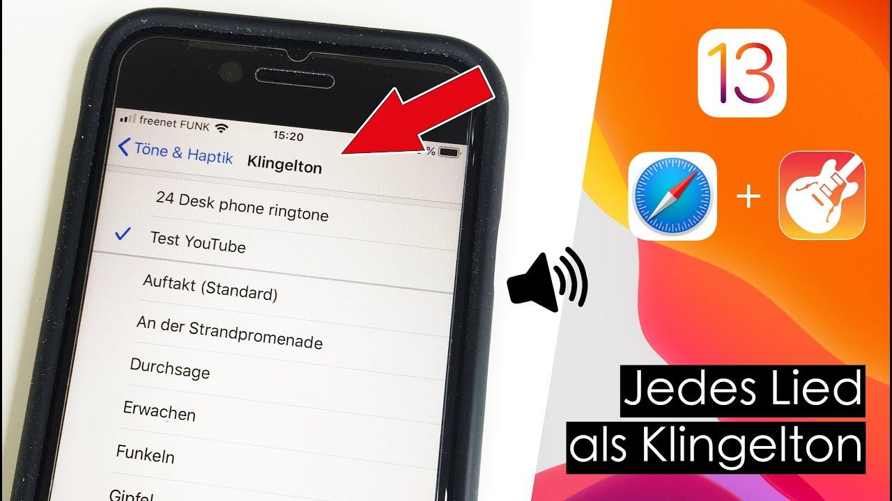 Mit iOS 13 eigenen Klingelton erstellen - ohne Jailbreak, ohne kostenpflichtige Apps !!!