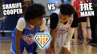 SHARIFE COOPER vs TRE MANN!! | Two Most UNDERRATED GUARDS in the COUNTRY GO CRAZY at Pangos
