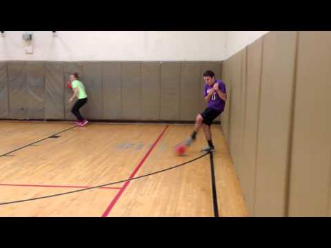 Monday Rubber Dodgeball League - Feb 2, 2015 B