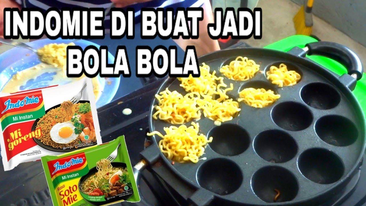 Cara Membuat Takoyaki Indomie Dari Mie Goreng Dan Mie Soto Unik Dan Enak Youtube
