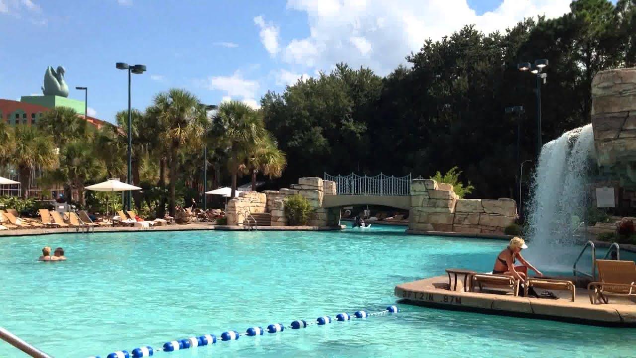 Disney World Swan Hotel Pool