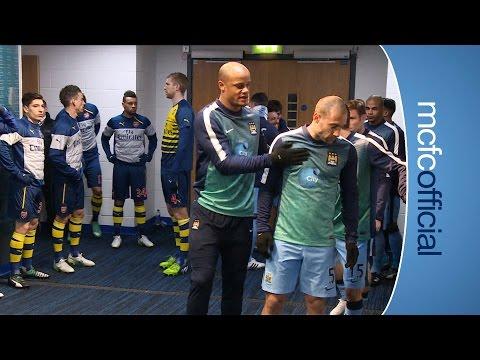 City 0-2 Arsenal | TUNNEL CAM | Barclays Premier League 14/15